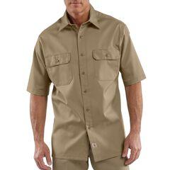 Carhartt Twill Work Short Sleeve Work Shirt, , hi-res