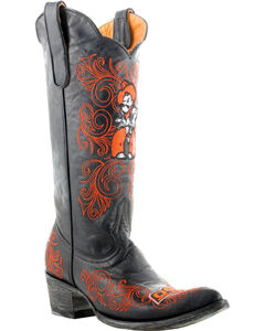 Gameday Oklahoma State University Cowgirl Boots - Pointed Toe, , hi-res
