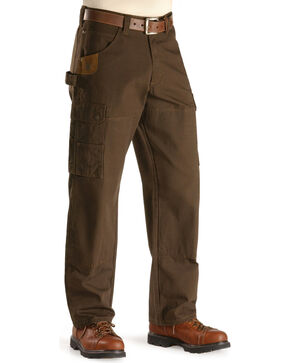 Wrangler Riggs Ranger Pants, Dark Brown, hi-res