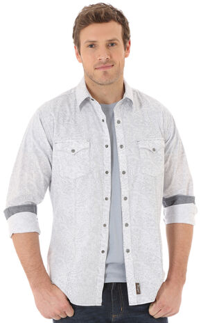Wrangler Men's Multi Retro® Long Sleeve Shirt , Multi, hi-res