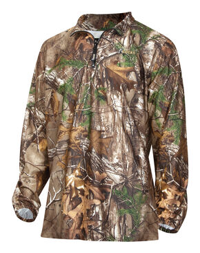 Rocky ProHunter Camo 1/4 Zip Shirt, Camouflage, hi-res