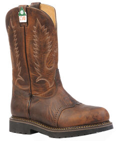 Boulet Laid Back Tan Spice Flame Resistant Work Boots - Steel Toe, , hi-res