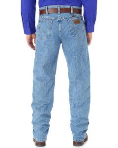 Wrangler Cool Vantage 36 Dark Stonewash Jeans - Slim Fit - Big and Tall, , hi-res