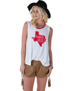 "White Crow Women's ""Born and Raised Texas"" Tank Top, , hi-res"