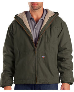 Dickies Hooded Sherpa Lined Work Jacket, , hi-res
