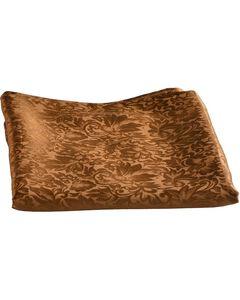 Brown Jacquard Silk Wild Rag, , hi-res