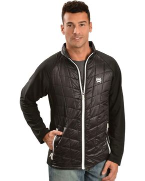 Cinch Quilted Body Jacket, Black, hi-res