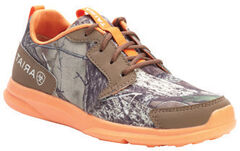Ariat Youth Boys' Fuse Camo Mesh Shoes, , hi-res