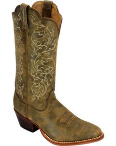 Twisted X Western Bomber Brown Cowgirl Boots - Medium Toe, , hi-res
