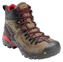 Keen Men's Pittsburgh Mid Waterproof Boots - Steel Toe, , hi-res