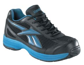 Reebok Men's Ketee Cross Trainer Work Shoes - Steel Toe, Black, hi-res