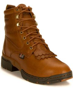 Justin Women's George Strait 3.1 Waterproof Lacer Boots, Sunset, hi-res