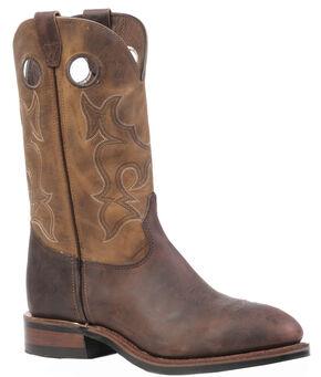 Boulet Laid Back Copper Hillbilly Golden Work Boots - Steel Toe, Copper, hi-res