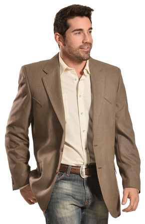 Circle S Men's Brown Odessa Sport Coat, Brown, hi-res