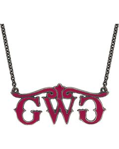 Girls With Guns Logo Necklace, , hi-res