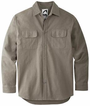 Mountain Khakis Men's Dark Olive Ranger Chamois Shirt, Olive, hi-res
