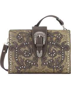 Bandana by American West Laramie Collection Clutch, , hi-res