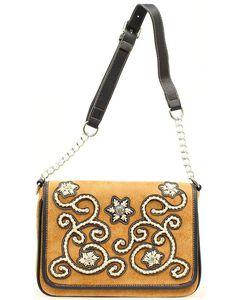 Blazin Roxx Floral Stitch Handbag, , hi-res