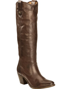 Frye Women's Jackie Button Rididng Boots - Round Toe, , hi-res