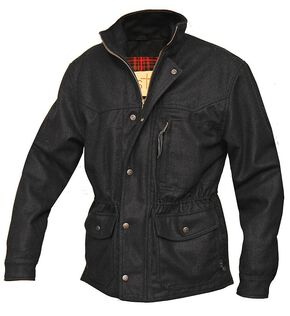 STS Ranchwear Men's Smitty Black Barn Jacket - Big & Tall - 2XL-3XL, Black, hi-res