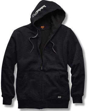 Timberland PRO Men's Black Double-Duty Full-Zip Sweatshirt , Black, hi-res
