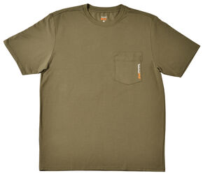 Timberland Men's Base Plate Blended T-Shirt, Olive Green, hi-res