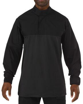 5.11 Tactical Stryke TDU Rapid Long Sleeve Shirt - Tall Sizes (2XT - 5XT), Black, hi-res