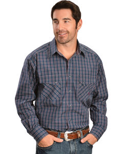 Ariat Twilight Plaid Snap Long Sleeve Shirt, , hi-res