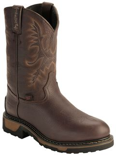 Tony Lama TLX Waterproof Insulated Pull-On Work Boots - Steel Toe, , hi-res