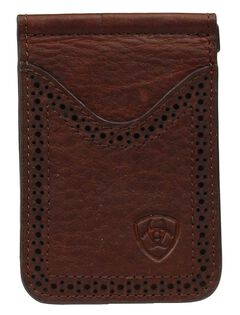 Ariat Card Case Clip Wallet, , hi-res