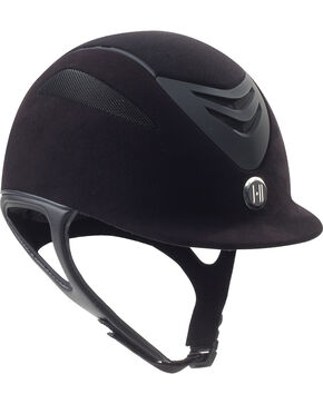 One K Defender Suede Helmet, Black, hi-res