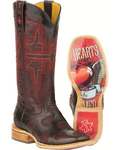 Tin Haul Wild Hearts Cowgirl Boots - Square Toe , , hi-res