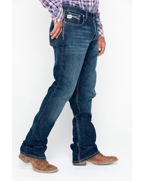 Cinch Men's Grant Performance Denim Relaxed Fit Jeans - Boot Cut, Indigo, hi-res
