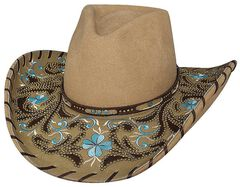 Bullhide Always On My Mind Wool Cowgirl Hat, , hi-res