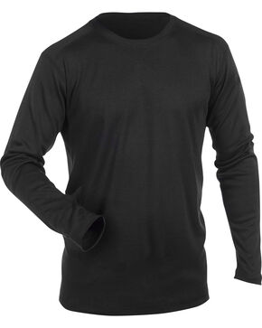 5.11 Tactical FR Polartec Crew Long Sleeve Shirt, Black, hi-res
