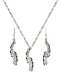 Montana Silversmiths Sparkling Pathway Jewelry Set , , hi-res