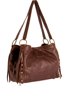 STS Ranchwear Chocolate Maggie Mae Handbag , , hi-res