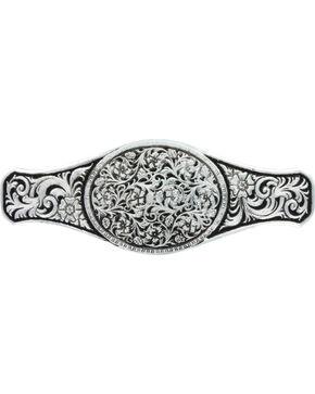 Montana Silversmiths Wild Bramble Barrette, Silver, hi-res