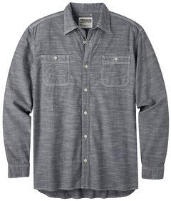 Mountain Khakis Men's Chambray Long Sleeve Shirt, , hi-res