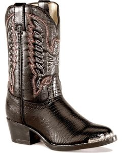Durango Youth Boys' Lizard Print Boots, , hi-res