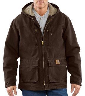 Carhartt Men's Jackson Coat - Big & Tall, Dark Brown, hi-res