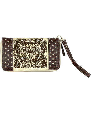 Savana Ivory with Lace Wallet, Ivory, hi-res