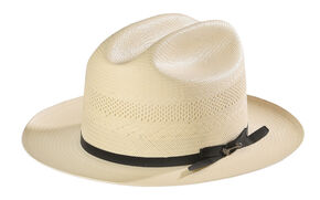 Stetson Men's Tan Open Road Hat, Natural, hi-res