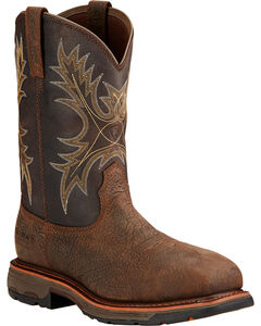 Ariat Workhog H2O Western Boots - Composite Toe, , hi-res