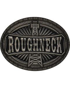 Montana Silversmiths Men's Silver-Tone Roughneck Marquee Attitude Buckle, , hi-res