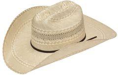 Twister 20X Shantung Double S Straw Cowboy Hat, , hi-res