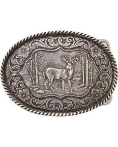 Montana Silversmiths Deer Buckle, , hi-res