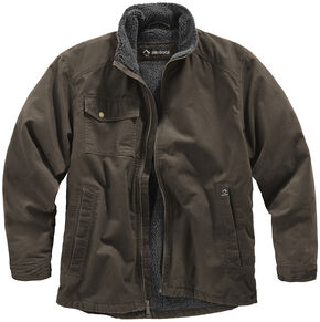 Dri Duck Men's Endeavor Jacket , Brown, hi-res