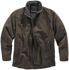 Dri Duck Men's Endeavor Jacket , Brown, hi-res