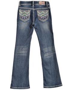 Grace in LA Girls' TeePee Bootcut Jeans, , hi-res